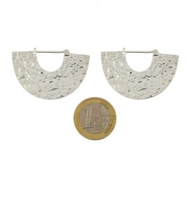 "COLLECTION "" ETHNIC GEOMETRIC"" by Sandrine Hêches ( BRASS SILVER PLATED)"