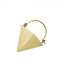 "COLLECTION "" ETHNIC GEOMETRIC"" by Sandrine Hêches (brass)"