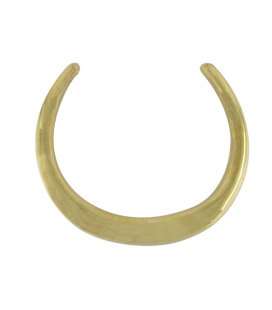 TRIBAL RING- ETHNIC BRASS NECKLACE