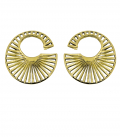 RISING SUN by Sandrine Heches (Brass) PRICE BY PAIR