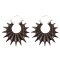 SPIKY (WOOD AND SILVER) ****SALES***SOLDES