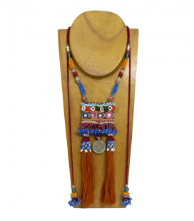 HAND MADE WEAVING ETHNIC NECKLACE