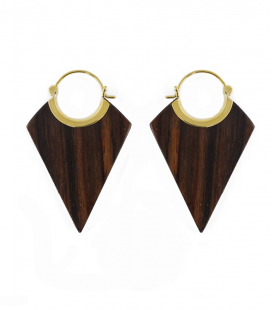 LOSANGE- WOOD AND BRASS ****SALES***SOLDES