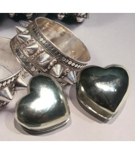 HEART (silver plated)