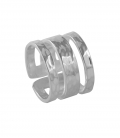 BRASS SILVER PLATED RING