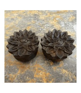 Lotus eyes ebony wood